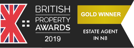 Gold Winner British Property Awards 2019