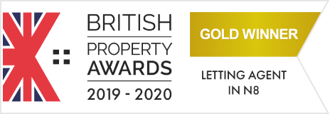 Gold Winner British Property Awards 2019-20