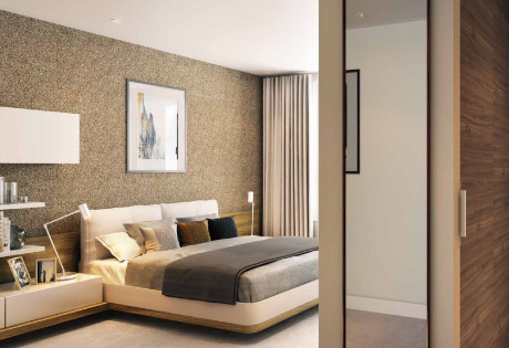 Smithfield Square bedrooms
