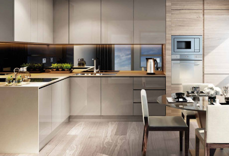 Smithfield Square kitchens
